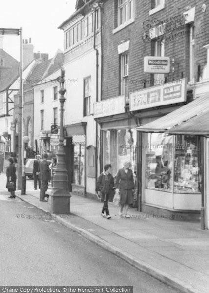 Photo of Ashby De La Zouch, Shop On Market Street c.1965