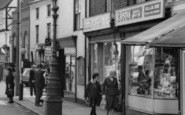 Ashby De La Zouch, Shop On Market Street c.1965