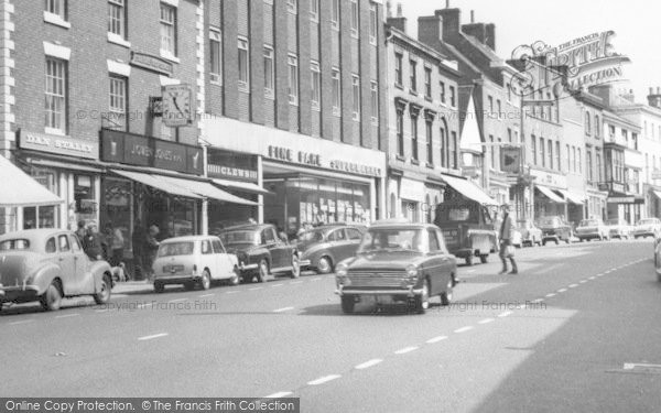 Photo of ashby de la zouch shops market street c1965 reheart Image collections