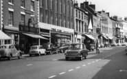 Ashby De La Zouch, Shops, Market Street c.1965
