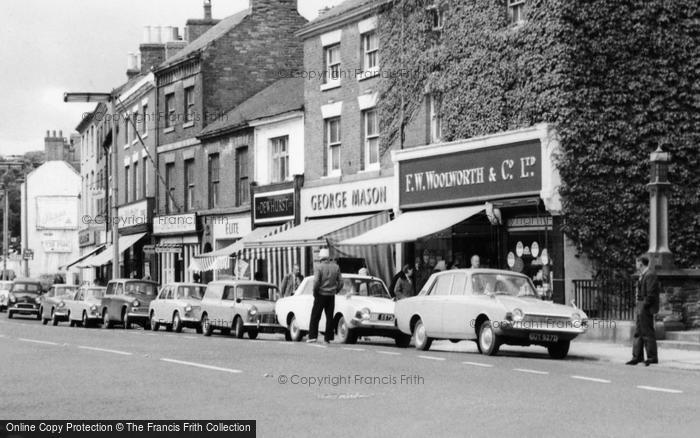 Photo of Ashby De La Zouch, Shops, Market Street c.1965