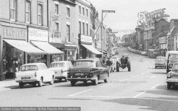 Photo of Ashby De La Zouch, Shops On Market Street 1966