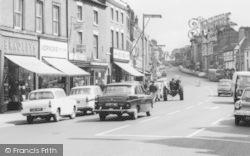 Ashby De La Zouch, Shops On Market Street 1966