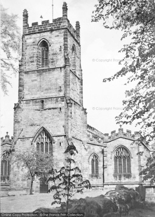 Photo of Ashby De La Zouch, St Helen's Church c.1965