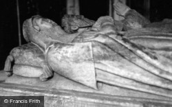 Ashby De La Zouch, St Helen's Church, Tomb Of Francis, 2nd Earl Of Huntingdon And His Countess c.1950, Ashby-De-La-Zouch