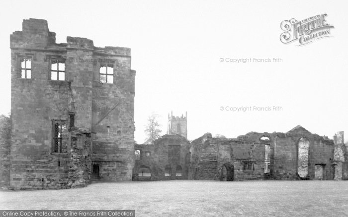 Photo of Ashby De La Zouch, The Castle c.1955