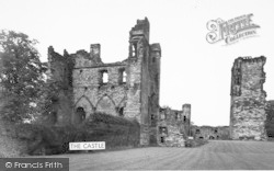 Ashby De La Zouch, The Castle c.1955