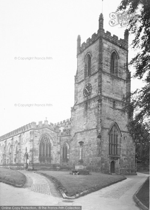 Photo of Ashby De La Zouch, The Parish Church c.1955