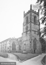 Ashby De La Zouch, The Parish Church c.1955