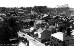 Ashby De La Zouch, View From St Helen's Church c.1965