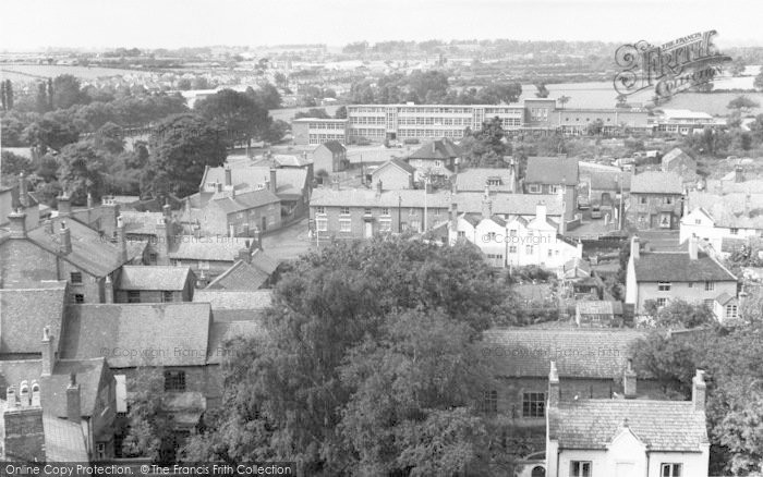 Photo of Ashby De La Zouch, View From St Helen's Church c.1965