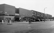 Ashby, Shopping Centre c1955