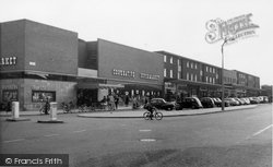 Ashby, Shopping Centre c.1955