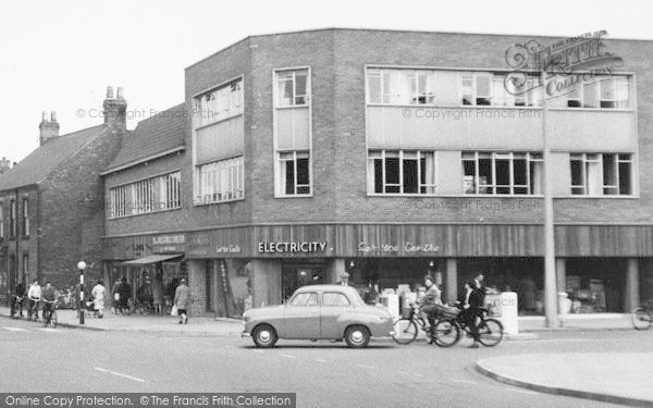 Photo of Ashby, Shopping Centre c.1960