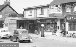 Ashby, Shops, Collum Lane c.1960