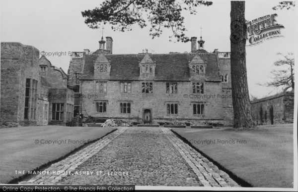 Photo of Ashby St Ledgers, The Manor House c.1960