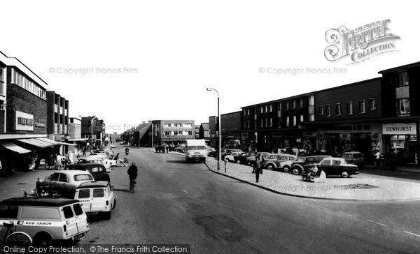 Photo of Ashby, The Broadway c.1965