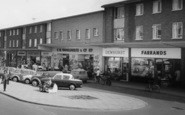 Ashby, The Broadway Shops c.1965