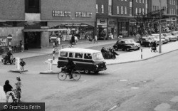 Ashby, Traffic In The Broadway c.1965