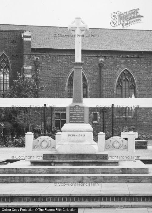 Photo of Ashby, War Memorial c.1965
