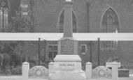Ashby, War Memorial c.1965