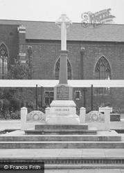 Ashby, War Memorial c.1965