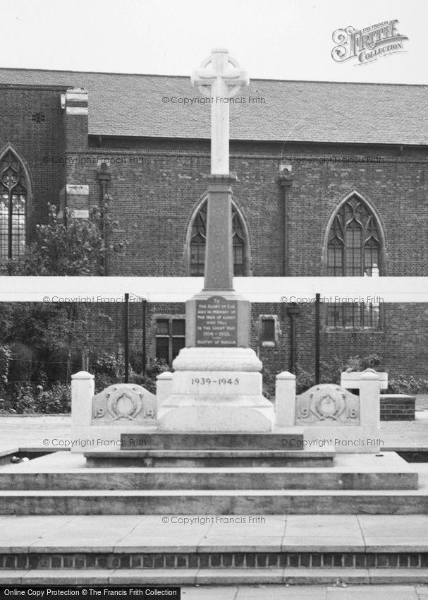 Ashby, War Memorial c1965