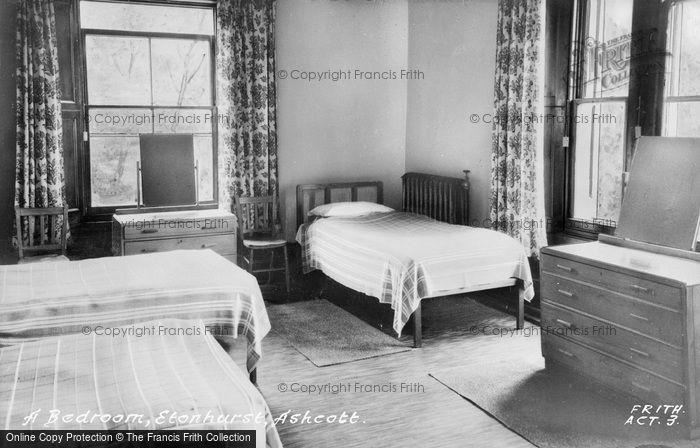 Photo of Ashcott, Etonhurst, A Bedroom c.1955