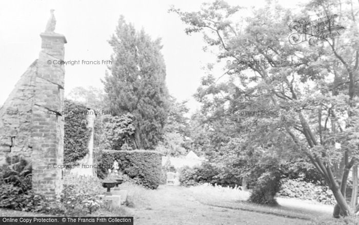 Photo of Ashcott, Etonhurst, The Grounds c.1955