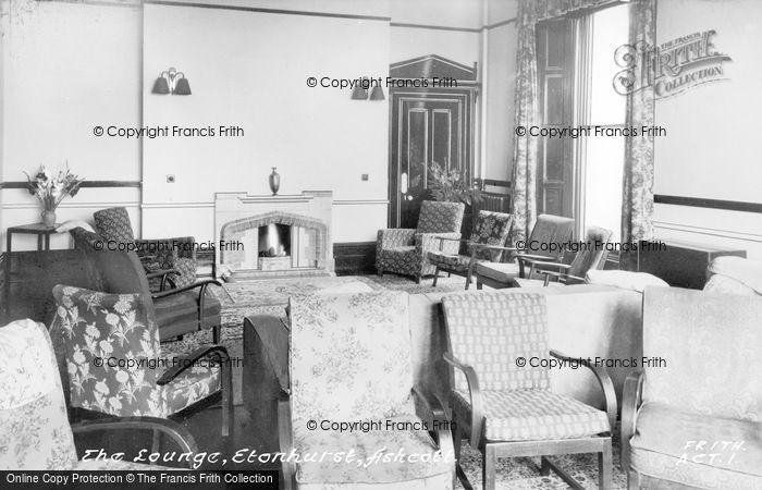 Photo of Ashcott, Etonhurst, The Lounge c.1955