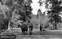 Broadstone Warren, Camp Centre c.1955, Ashdown Forest