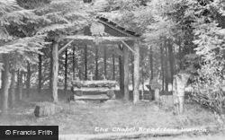 Ashdown Forest, Broadstone Warren, Chapel c.1955