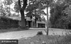Camp Centre, Broadstone Warren c.1955, Ashdown Forest