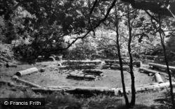 Ashdown Forest, Camp Fire Circle, Broadstone Warren c.1955