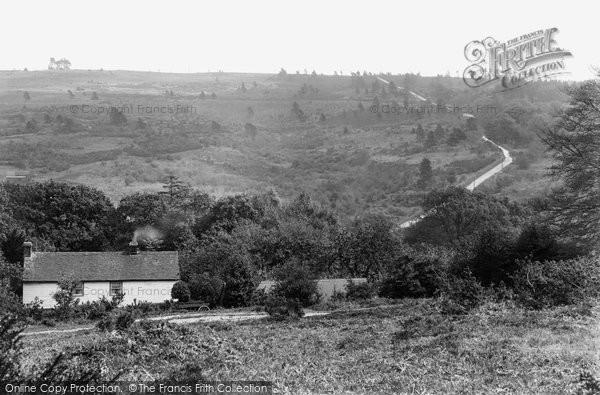 Ashdown Forest, Captain Kidd's Hill 1927