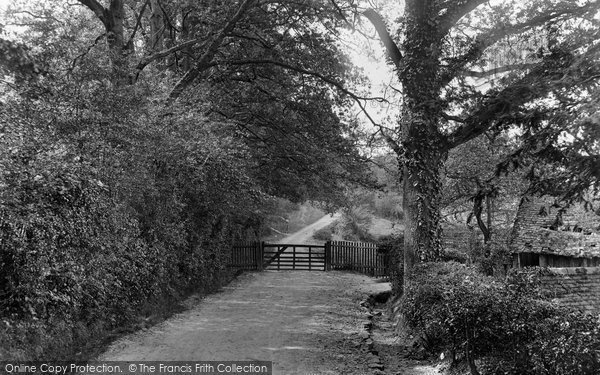 Photo of Ashdown Forest, Colemans Hatch Entrance To Shepherds Gate 1928