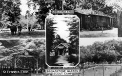 Ashdown Forest, Composite, Broadstone Warren Scout Camp c.1955