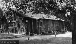 Ashdown Forest, Log Cabin, Broadstone Warren c.1955