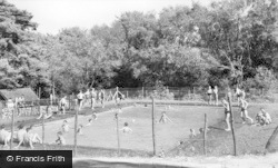 Ashdown Forest, The Swimming Pool, Broadstone Warren c.1955