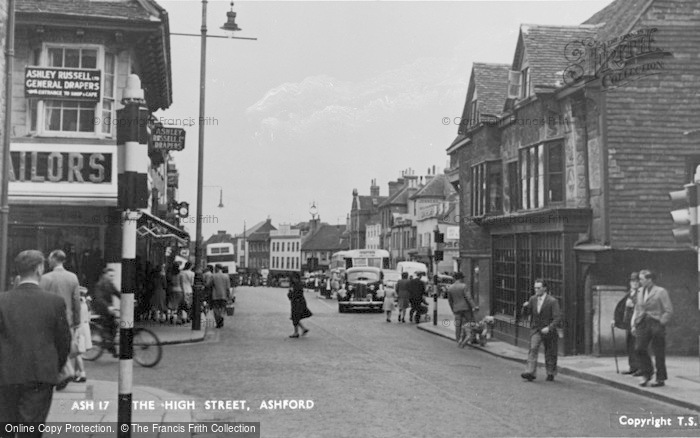 Photo of Ashford, Ashford Road c.1950