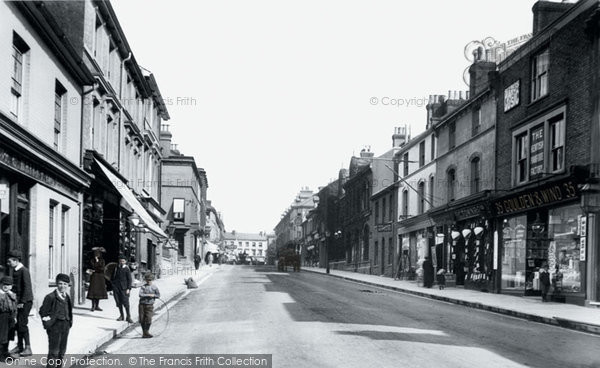 Photo of Ashford, Bank Street 1903