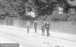 Ashford, Boys In Elwick Road 1901