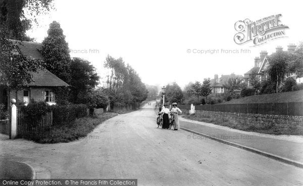 Photo of Ashford, Canterbury Road 1908