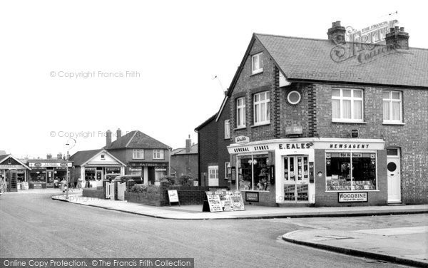Photo of Ashford, Chesterfield Road 1962