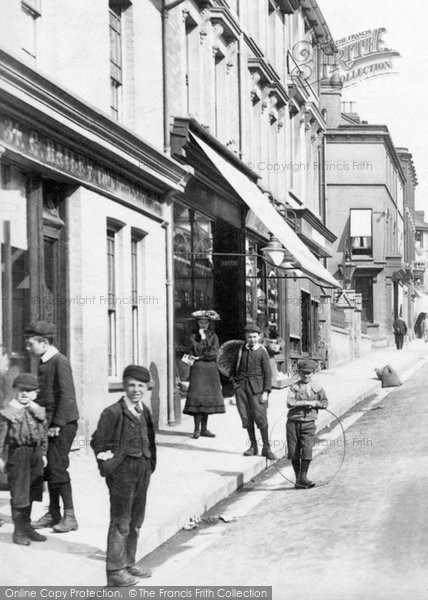 Photo of Ashford, Children In Bank Street 1903