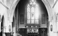 Ashford, Church Interior 1895