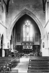 Ashford, Church Interior 1895