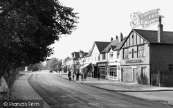 Ashford, Church Road 1950