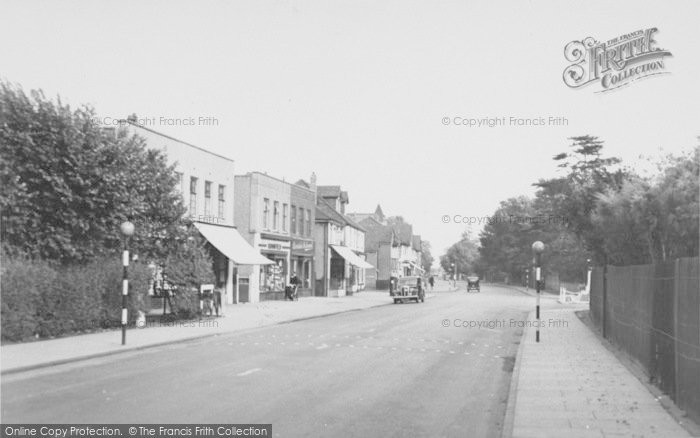 Photo of Ashford, Church Road 1950