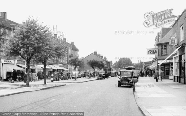 Photo of Ashford, Church Road 1954